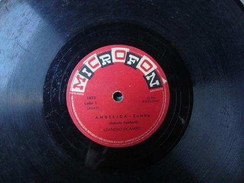 disco pasta 78 rpm leandro ocampo c7