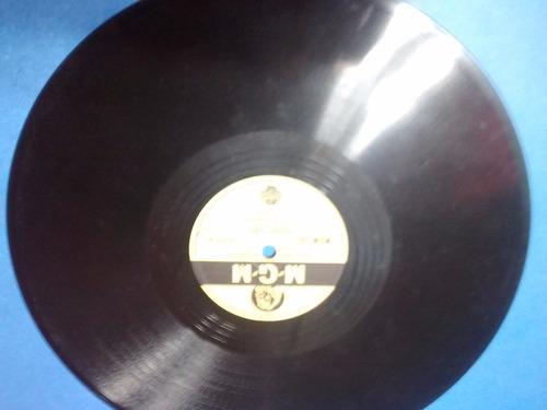 disco pasta 78 rpm mgm england johnnie johnston fancy winter