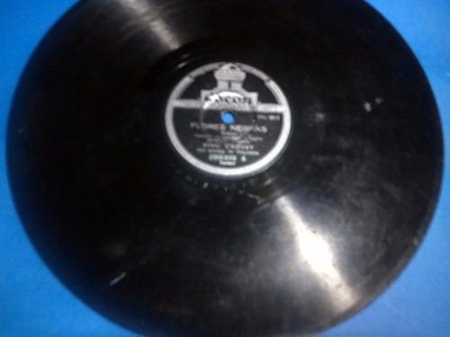 disco pasta 78 rpm odeon bing crosby 286818 flores negras