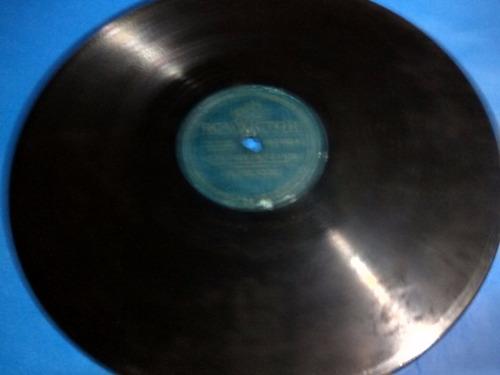 disco pasta 78 rpm rca victor 681460 los tres soles paris