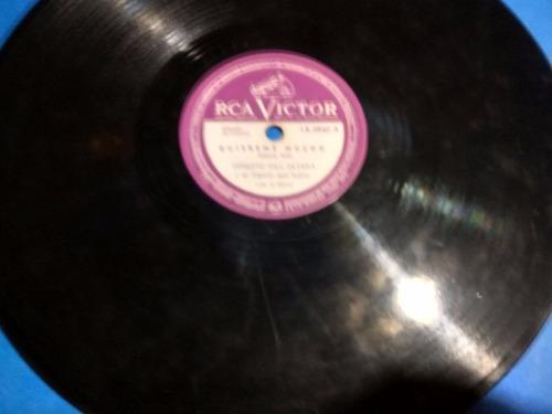 disco pasta 78 rpm rca victor ernesto hill olivera 1a-0940