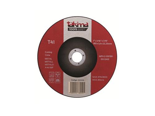 disco p/esmerilar centro deprim 4 1/2 (paq 5 un) (mayor)