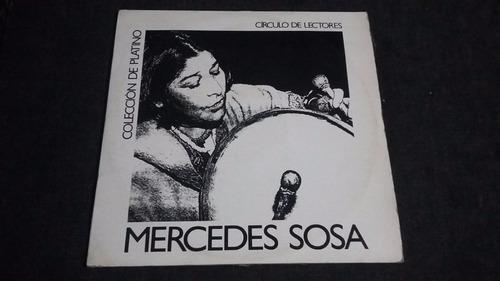 disco platino mercedes sosa x 2 lp vinilo protesta social