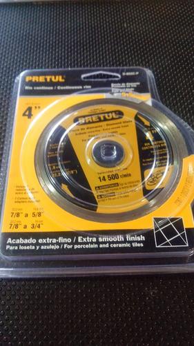 disco pretul concreto 4 pul