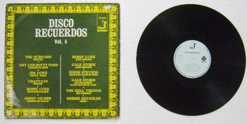 disco recuerdos vol 4  1 disco  lp vinil