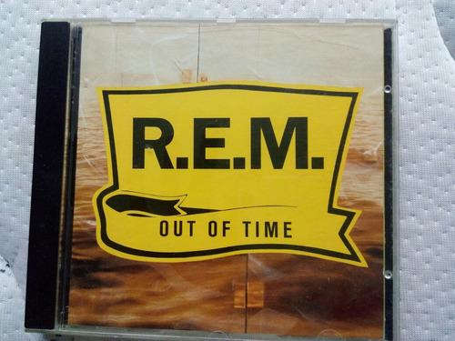 disco r.e.m. out of time im. francia\alemania 1991