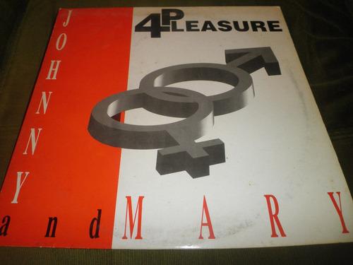 disco remix vinyl importad 4 pleasure - johnny & mary (1995)