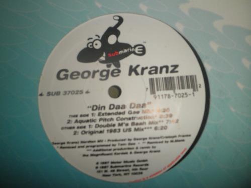 disco remix vinyl importad george kranz - din daa daa (1997)