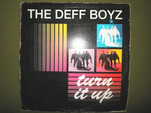 disco remix vinyl importad the deff boyz - turn it up (1991)