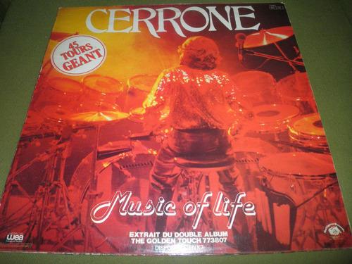 disco remix vinyl importado cerrone - je suis music (1979)