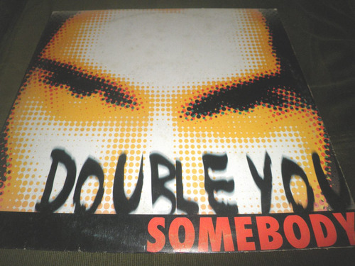 disco remix vinyl importado de double you - somebody (1997)