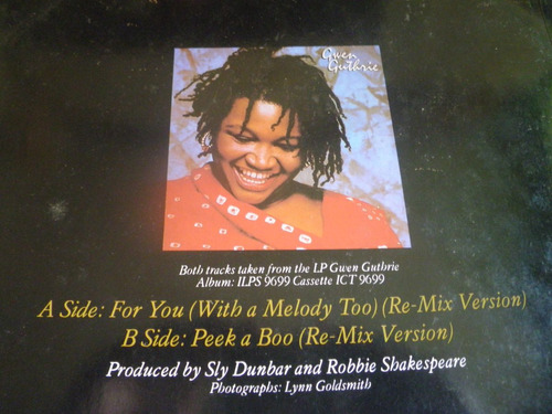 disco remix vinyl importado de gwen guthrie - for you (1982)