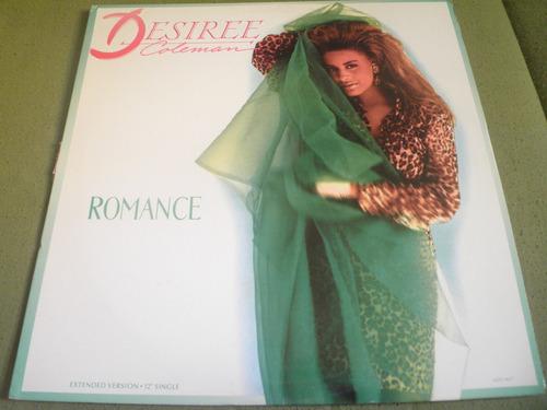 disco remix vinyl importado desiree coleman - romance (1988)