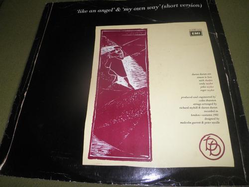 disco remix vinyl importado duran duran - my own way (1981)