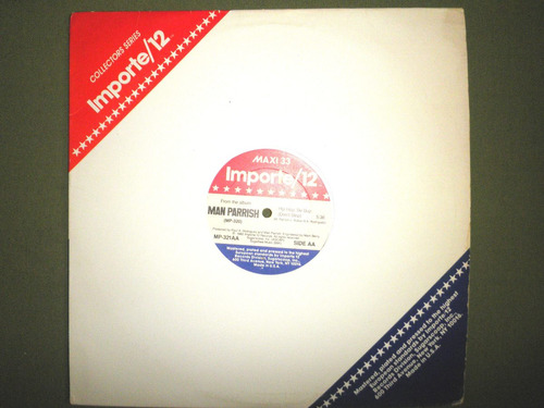 disco remix vinyl imprtd man parrish - hip hop be bop (1982)