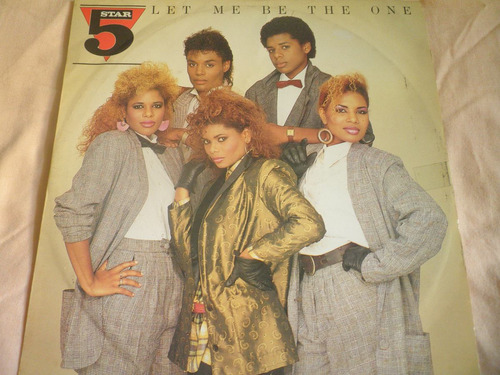 disco remix vinyl imptd five star - let me be the one (1985)