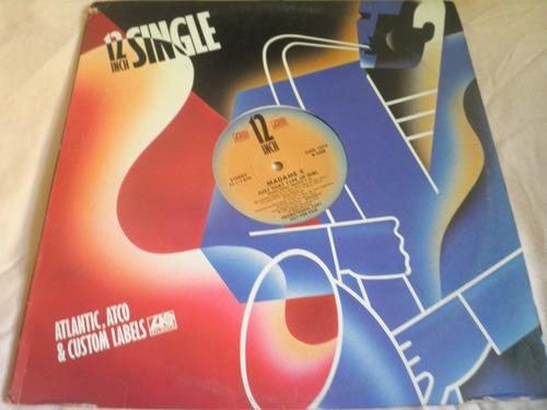 disco remix vinyl madame x - just that type of girl (1987)
