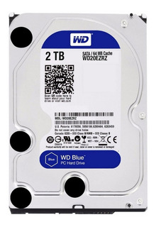 DISCO RIGIDO 2TB BLUE WD WESTERN DIGITAL 64MB SATA3 PCE