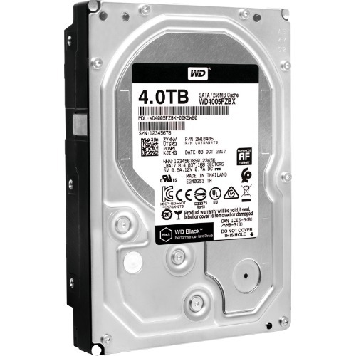 HD 4TB WD BLACK PERFORMANCE (WD4005FZBX)