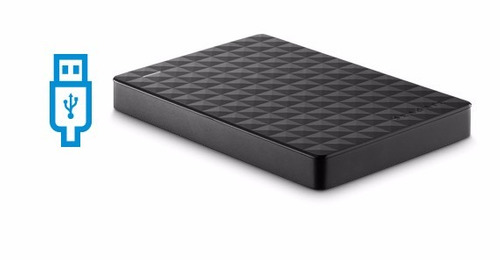 disco rigido externo 1tb usb 3.0 seagate pc ps4 - smal lan