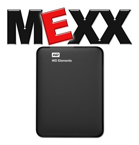 disco rigido externo 2tb wd western digital elements mexx 4