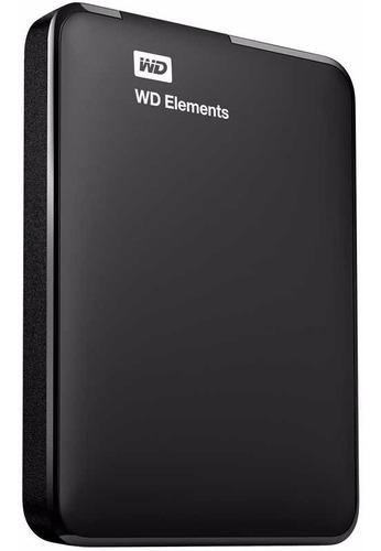 disco rígido externo portátil wd elements 2tb usb - xellers