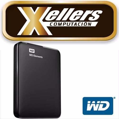 disco rígido externo portátil wd western digital 2tb cuotas