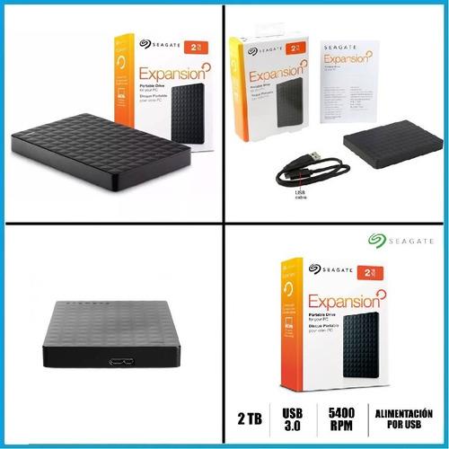 disco rigido externo seagate 2tb expansion portable usb 3.0