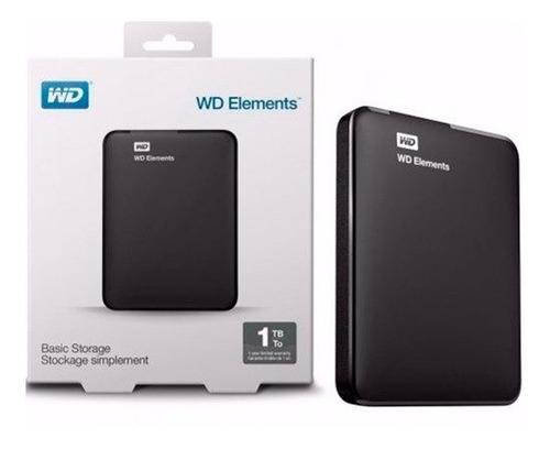 disco rigido externo wd western digital elements 2tb usb 3.0