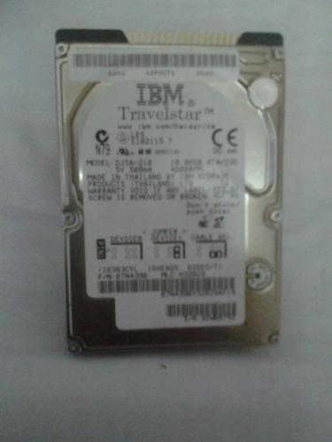 disco rigido ibm travelstar 10 gb. model: djsa-210 - 4200rpm