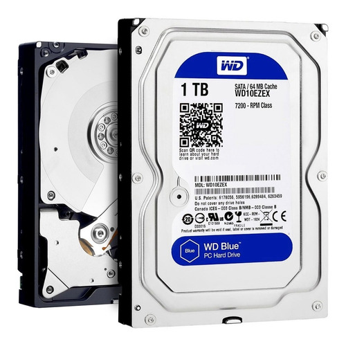 disco rigido interno 1tb wd western digital blue hdd sata 3