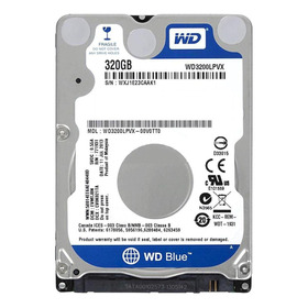 Disco Rígido Interno Western Digital  Wd3200lpvx 320gb Azul