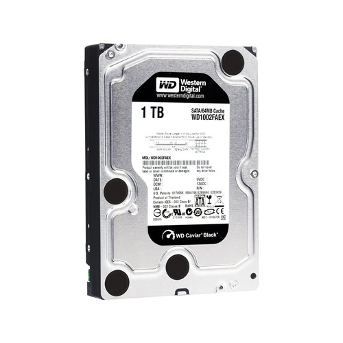 disco rigido pc western digital wd caviar black 1tb sata 3