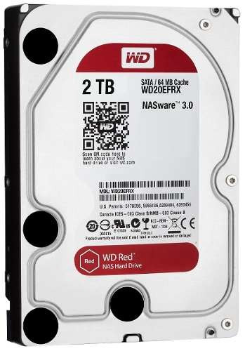 disco rigido western digital 2tb nas red sata 3 64mb raid