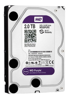 DISCO RÍGIDO WESTERN DIGITAL CAVIAR PURPLE 2TB WD PCE