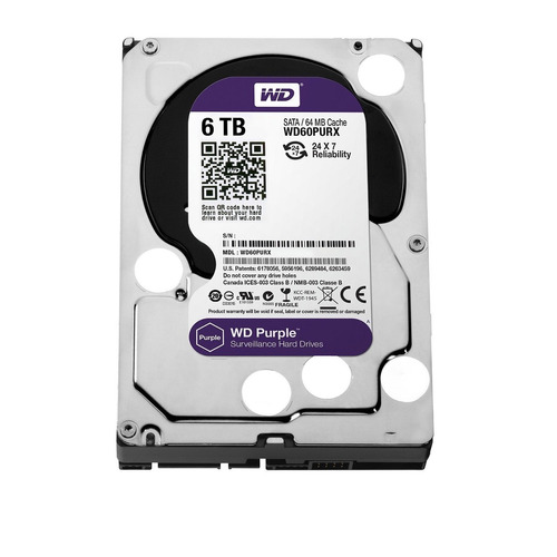 disco rigido western digital wd purple 6tb dvr seguridad