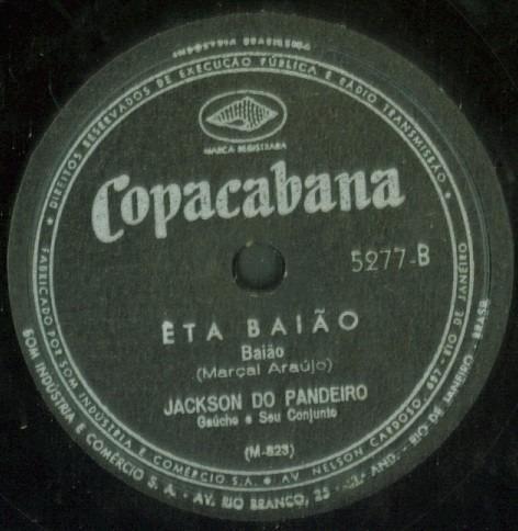 disco rotação 78 - jackson do pandeiro - boi brabo