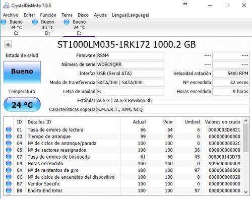 disco seagate 1tb compatible ps3 ps4 5400rpm