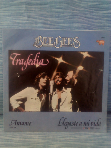 disco sencillo 45 rpm vinilo acetato lp bee gees
