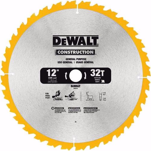 disco serra circular 12 pol 32 dentes madeira dw3123