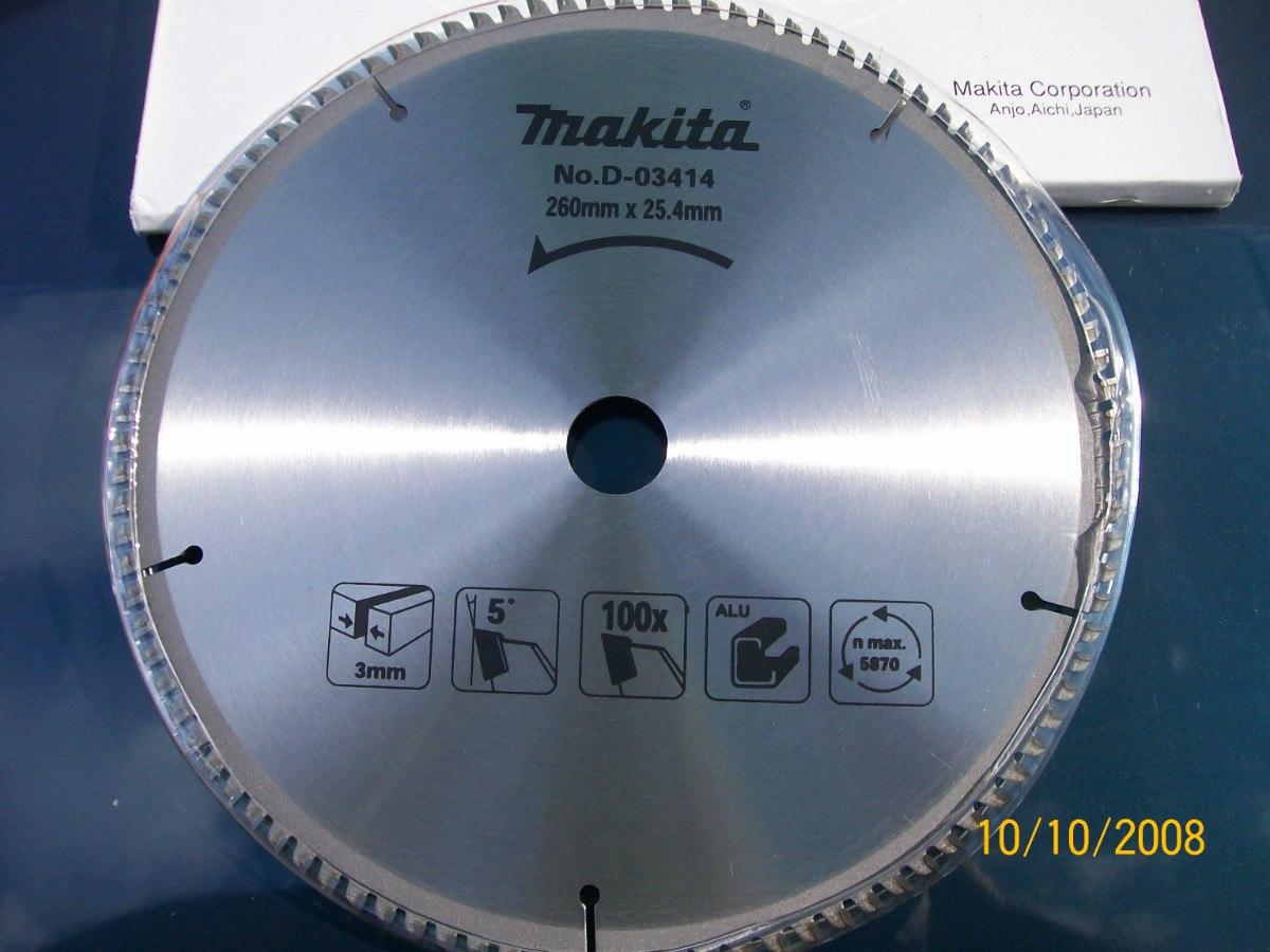 Disco serra circular especial p cortar aluminio 100 - Disco corte aluminio ...