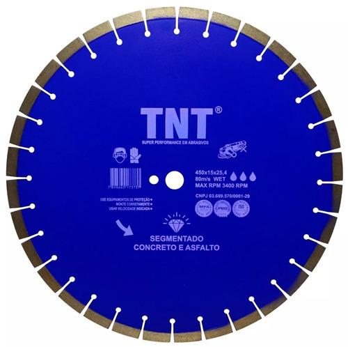 disco serra cortar piso/asfalto 450mm p/ cortador norton