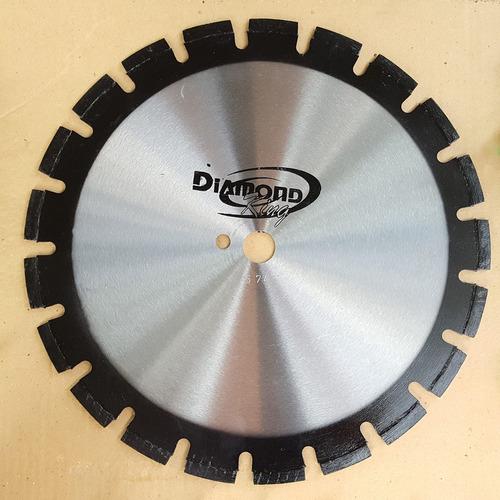 disco serra diamantada asfalto e concreto 350mm 14pol. 10mm