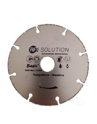 disco serra madeira corte fino 110mm furo 20 sem dente 4pol