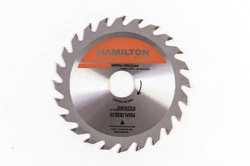 disco sierra circular hamilton madera 255 mm z48 ss2548