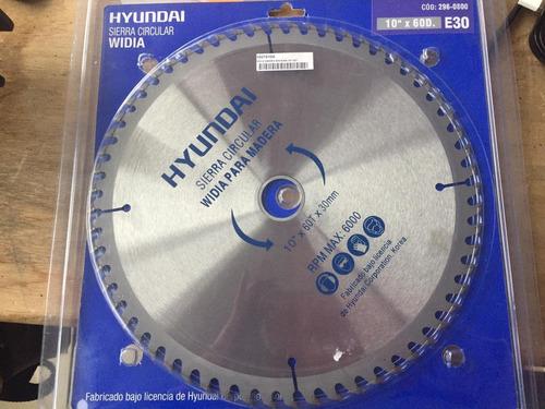 disco sierra circular para madera hyundai