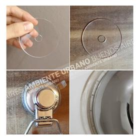 Disco Silicona Sopapa Se Pega A Todo Anticaidas Lavable