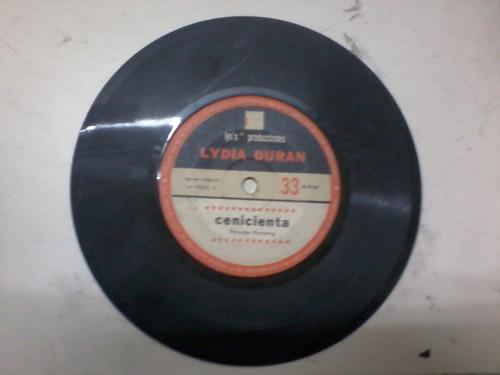disco simple vinilo 1001 a lydia duran cenicienta cuento nav