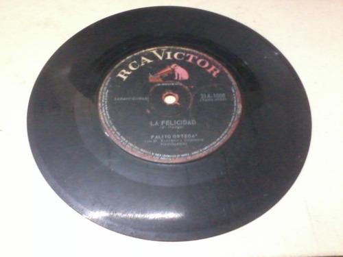 disco simple vinilo rca victor 31a1008 palito ortega la feli