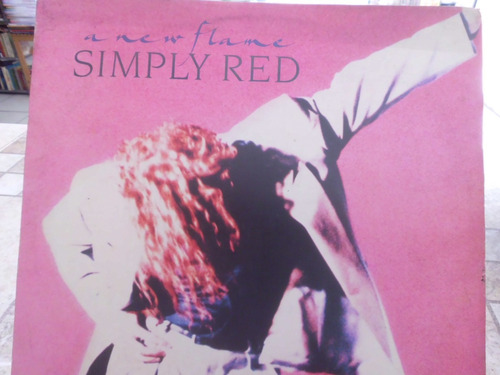 disco simply red a new flame